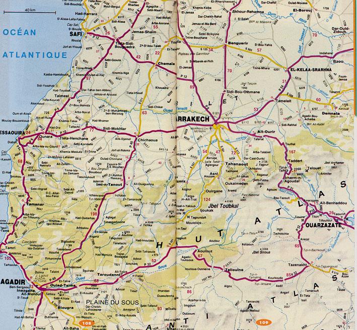 Infos sur : maroc sud carte geographique   Arts et Voyages